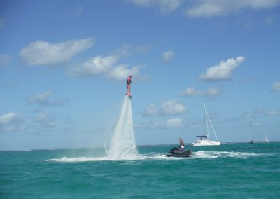 combo jet ski tour with flyboard and water wings with Jet Paradise St Maarten (1)